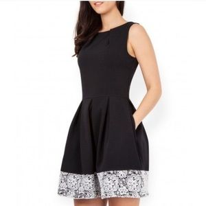 Closet London • skater dress with lace